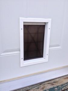"""Pet Smart Doggie Door - 36"""" Mastercraft Steel Door Installation - Hicksville, Ohio"""