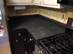 BEFORE - Kitchen Counter Top & Sink Replacement - Bryan, Ohio