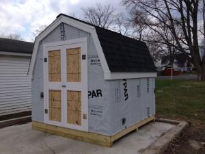 8 x 8 Storage Shed - Hicksville, Ohio