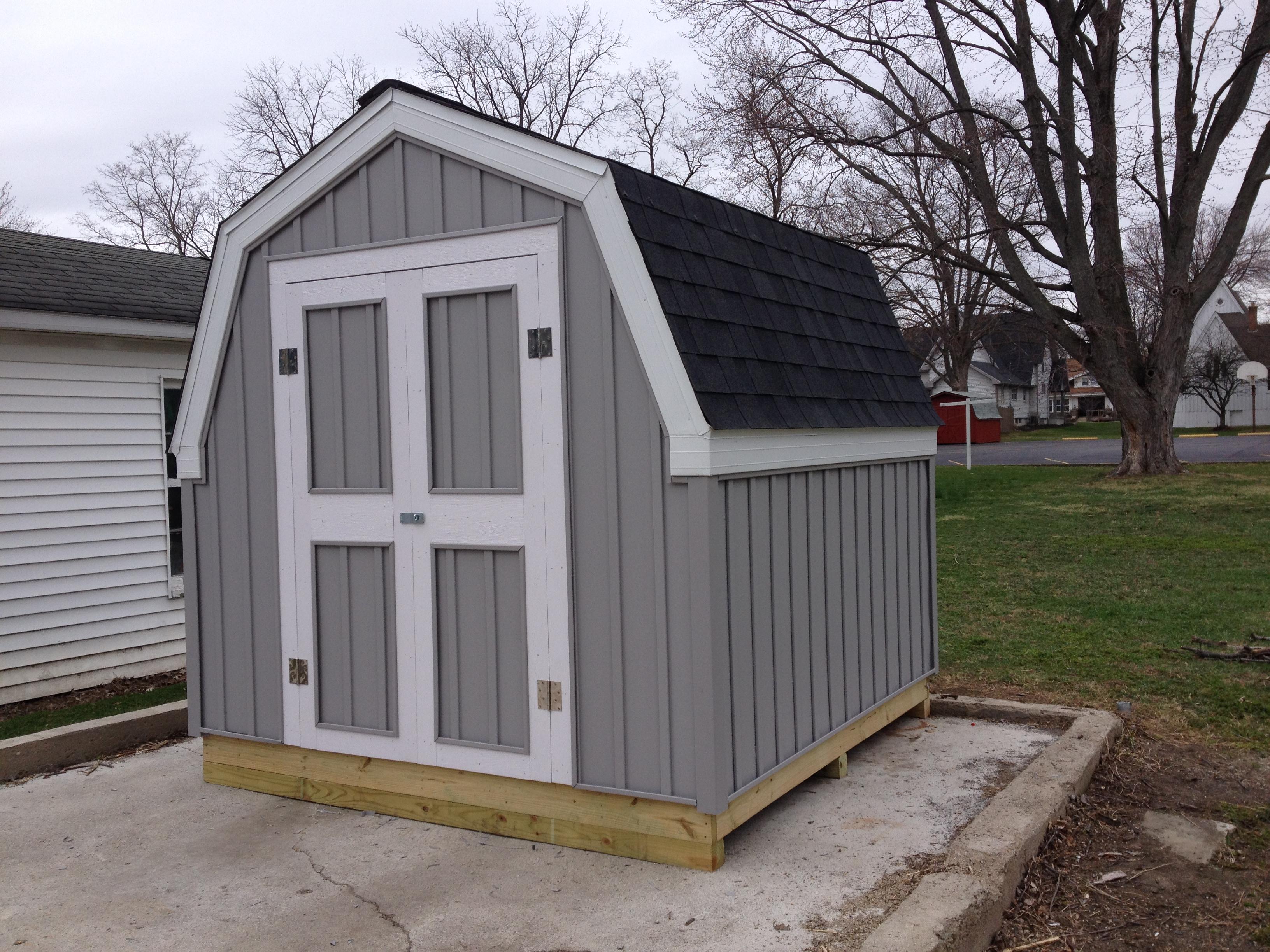 8 X 8 Storage Shed Hicksville Ohio Jeremykrill Com