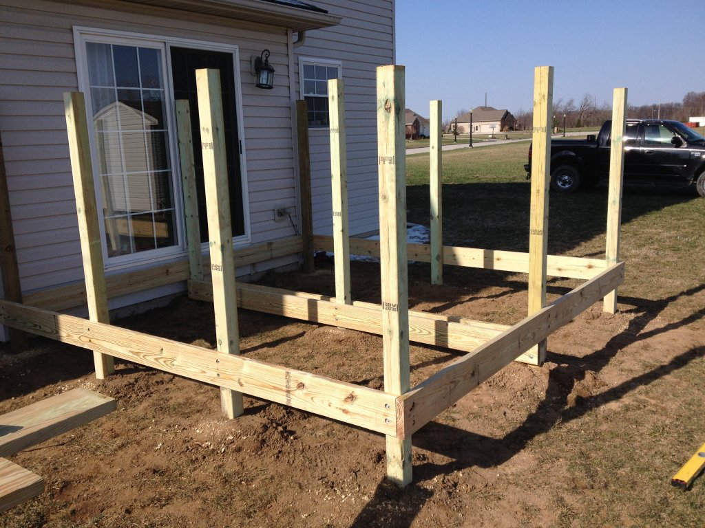 12 x 12 Hybrid Composite Deck – Edgerton, Ohio