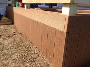 12 x 12 Composite Hybrid Deck - Edgerton, Ohio