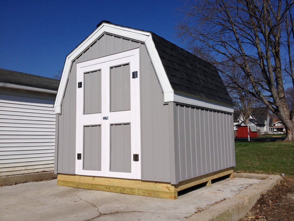 8 x 8 storage shed hicksville ohio for Sheds storage buildings