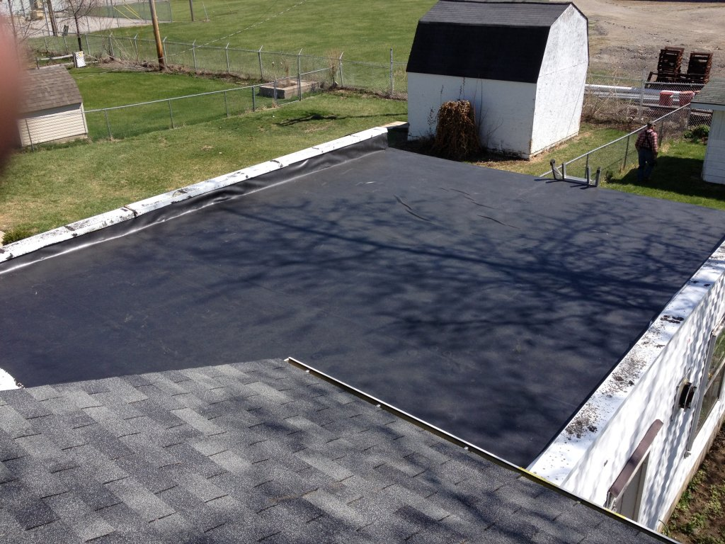 Rubber Roof Installation - Bryan, Ohio
