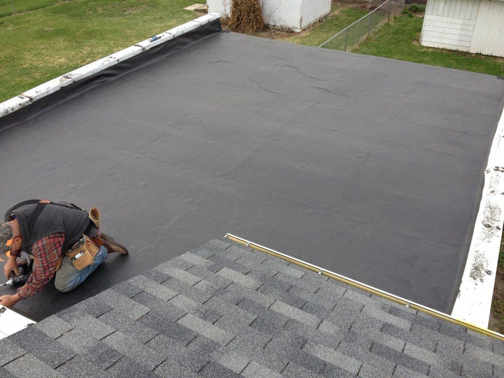 Rubber Roof Installation – Bryan, Ohio | JeremyKrill.com
