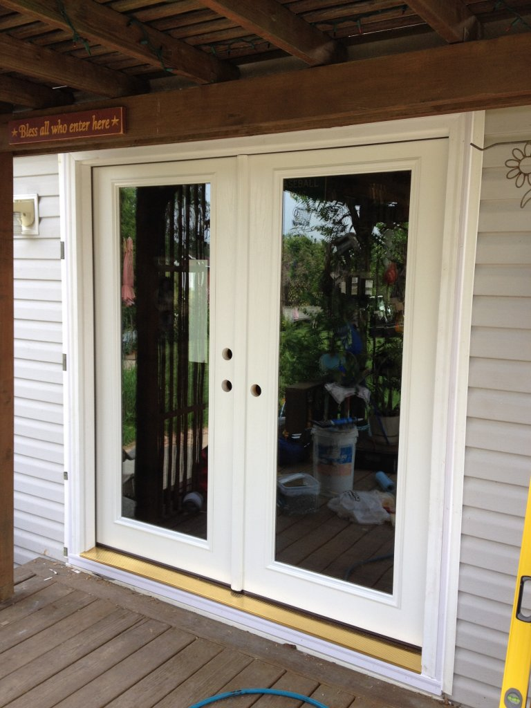 Therma tru french door hicksville ohio for Patio entry doors