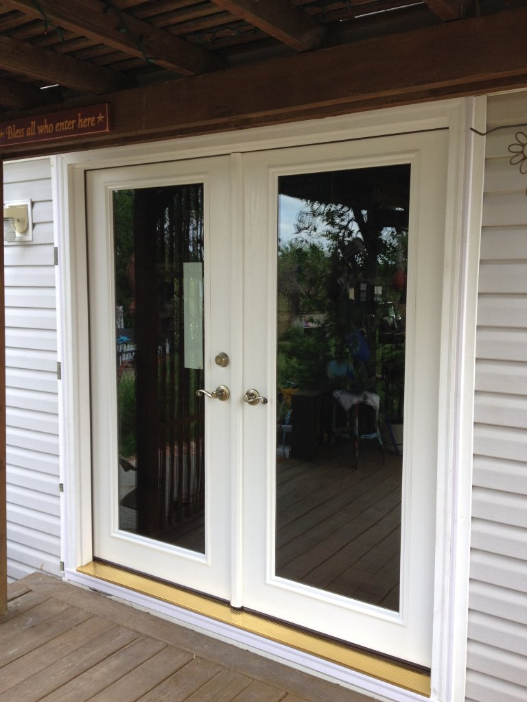 Therma tru french door hicksville ohio for French entry doors