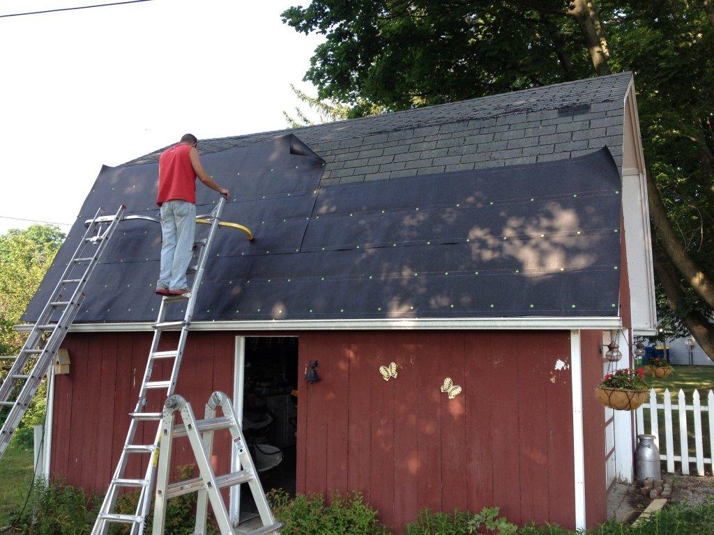Pro Rib Steel Gambrel Roof Barn Edgerton Ohio