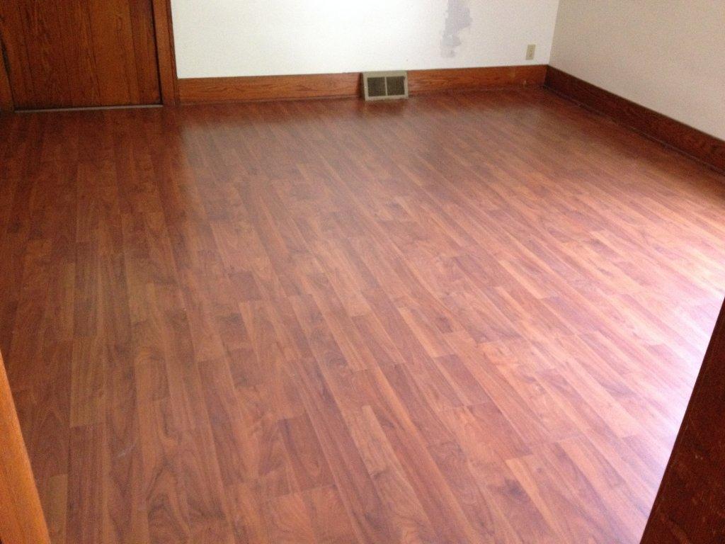 Laminate Floor Installation - Edgerton, Ohio