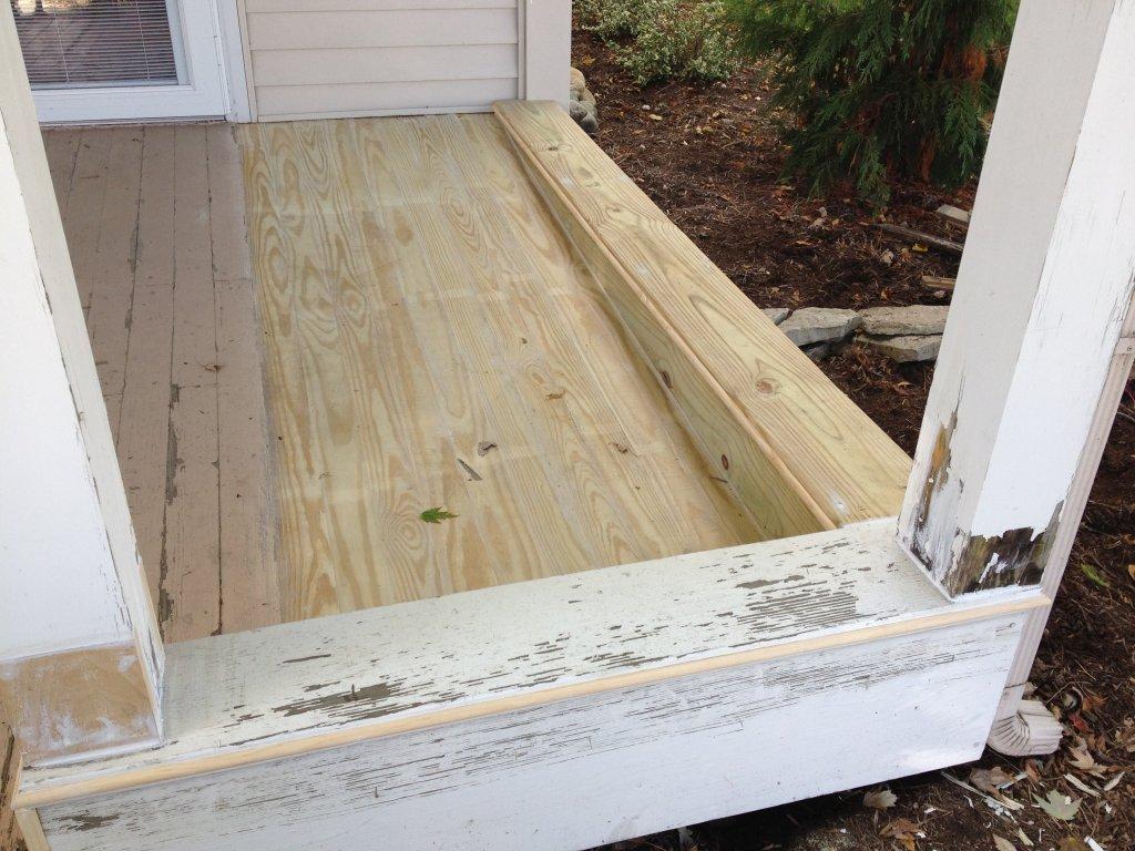 Porch Floor Repair - Farmer, Ohio