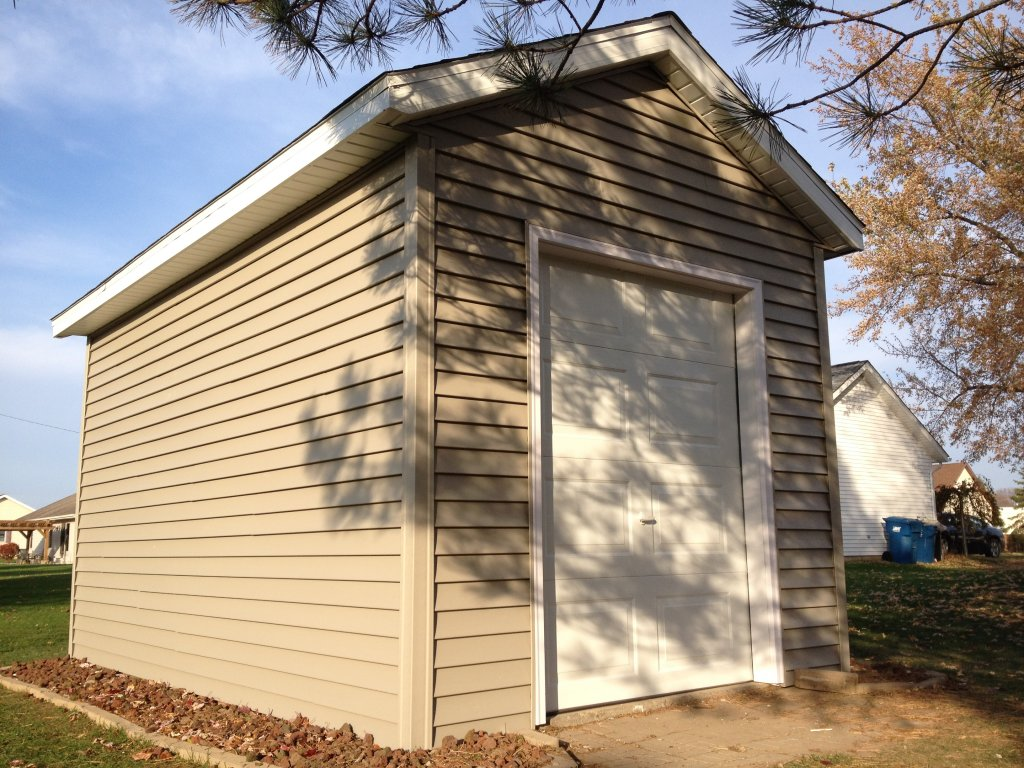 8x16 Storage Shed Rehab - Edgerton, Ohio