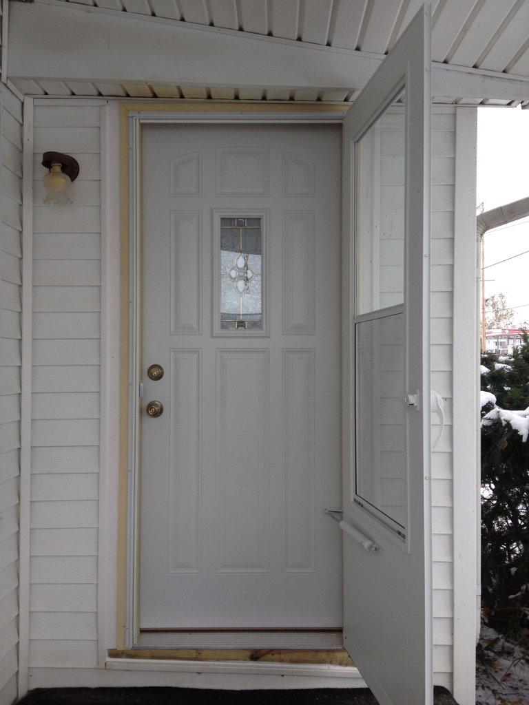 MasterCraft Steel Door Installation - Bryan, Ohio
