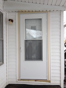Mastercraft steel door installation bryan ohio for Mastercraft storm doors
