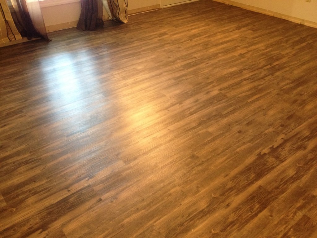 Citadel vinyl plank flooring installation bryan ohio for Floor installers