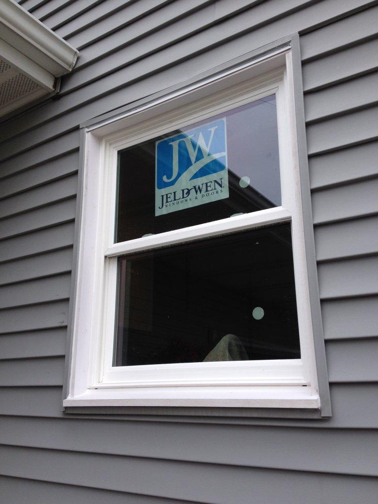 JeldWen Vinyl Pocket Window Installation - Edgerton, Ohio