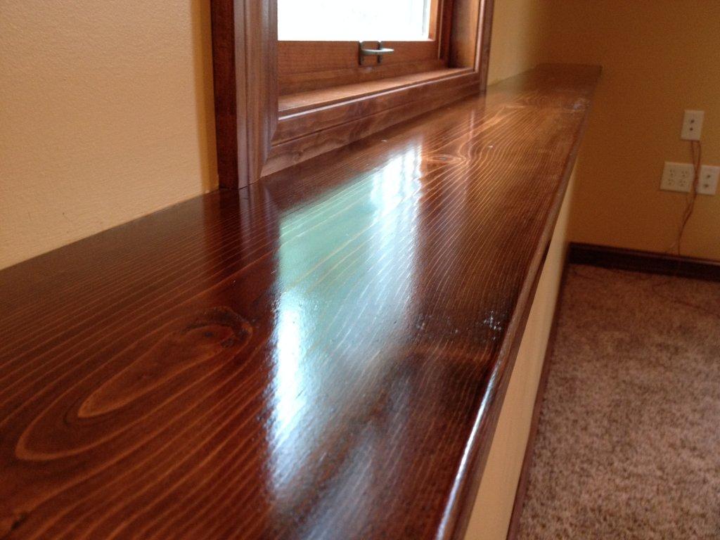 Solid Pine Trim Installation - Hicksville, Ohio