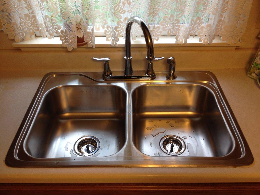 Stainless Kitchen Sink Installation - Antwerp, Ohio