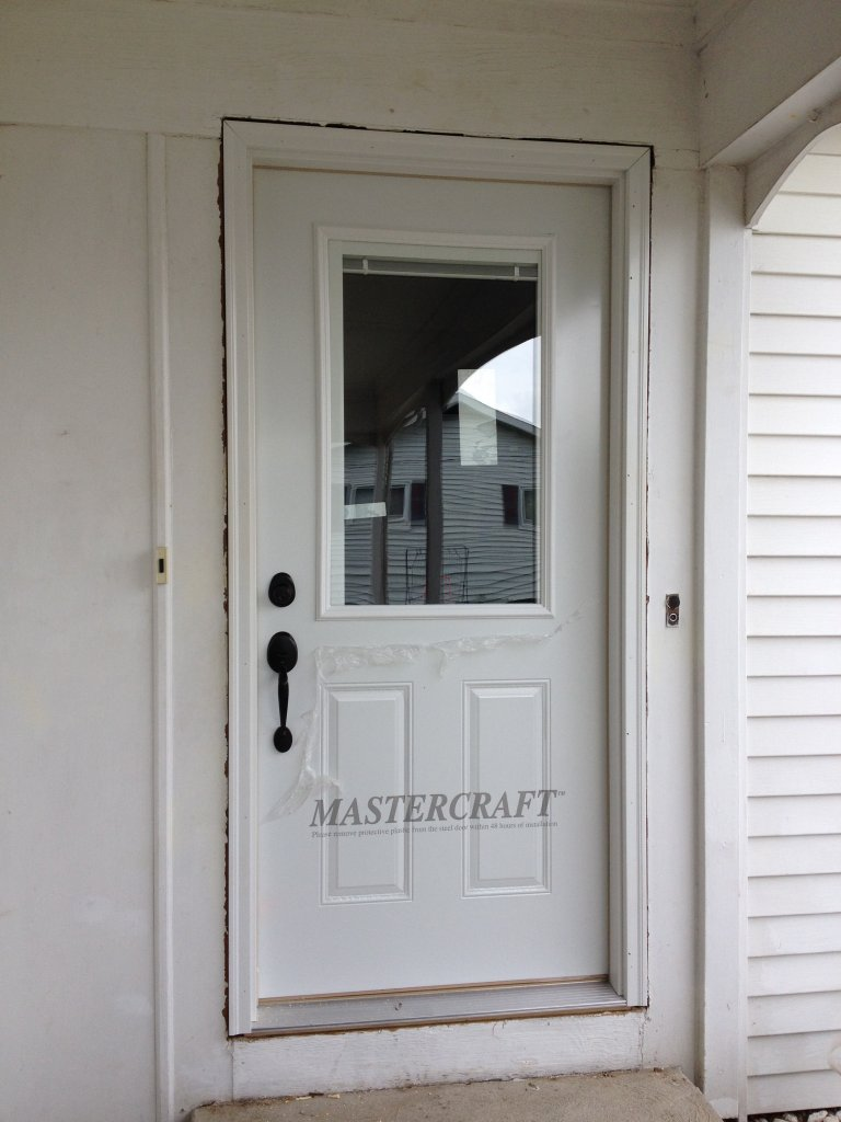 Mastercraft Steel Door Installation Defiance Ohio