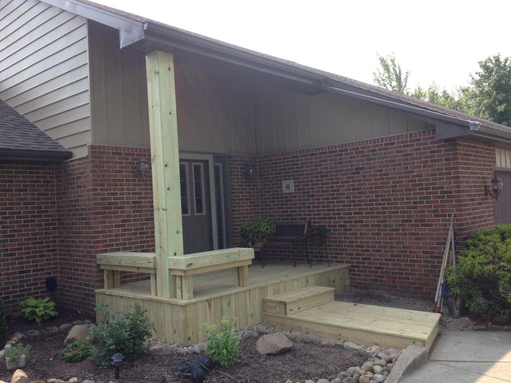 Porch Construction - Hicksville, Ohio