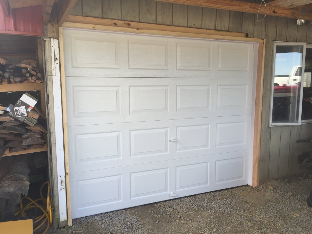 Garage door installation jam modification edgerton for Garage modification