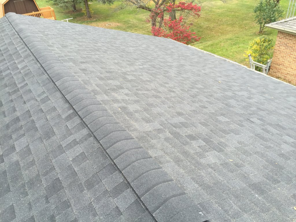 Roof Venting Problems : Owens corning duration roof replacement edgerton ohio