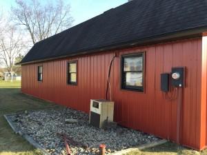 Steel Siding Amp Trim Gambrel Barn Sherwood Ohio