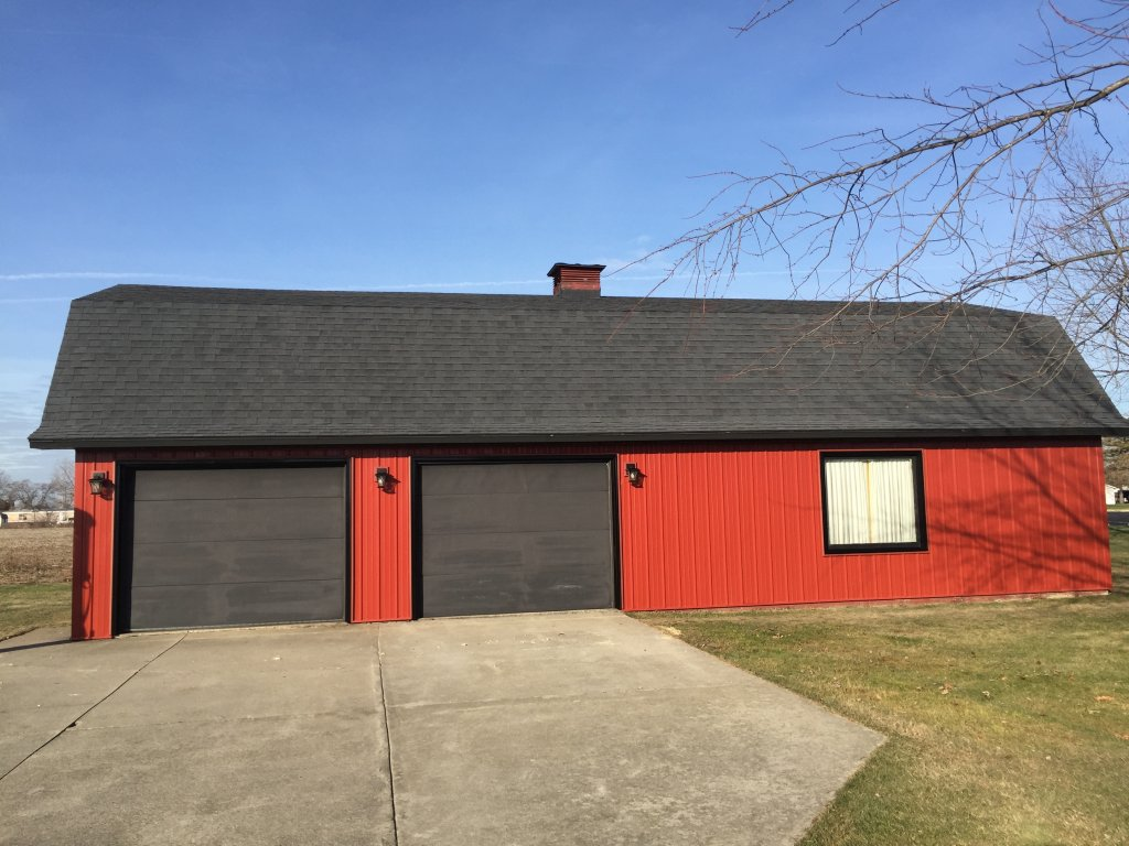 Steel Siding Amp Trim Gambrel Barn Sherwood Ohio