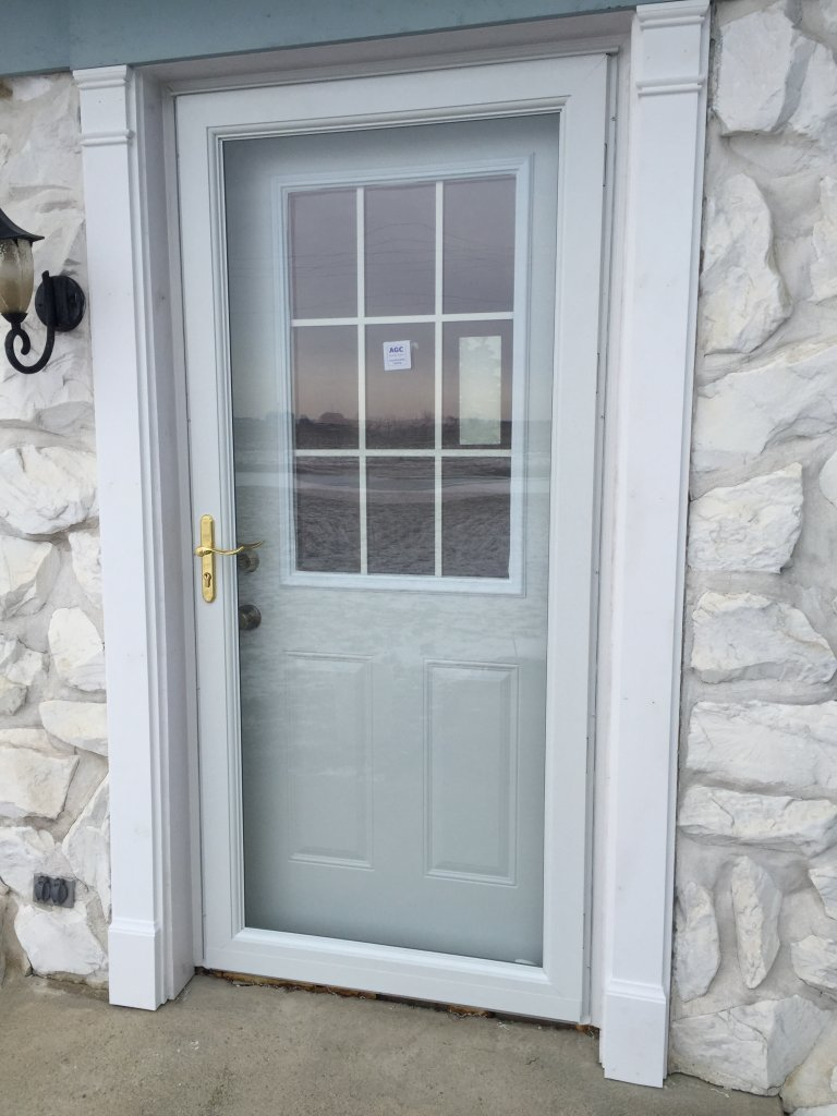Entry door patio door replacement hicksville ohio for Mastercraft storm doors
