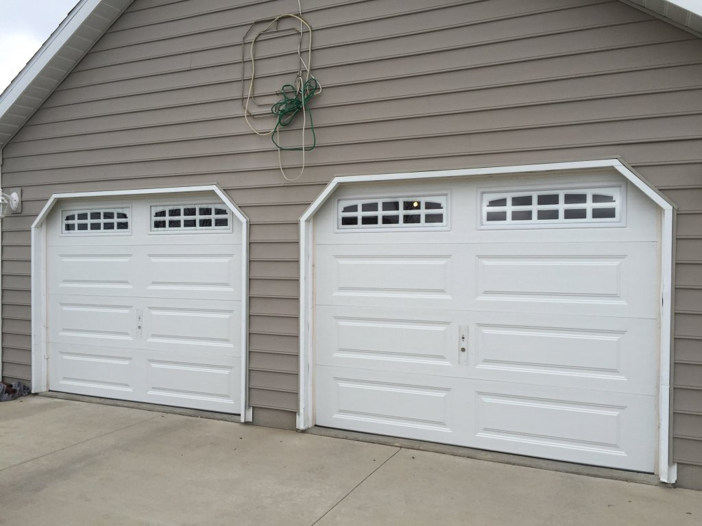 Ideal 9 x 7 garage door installation bryan ohio for 16 x 11 garage door
