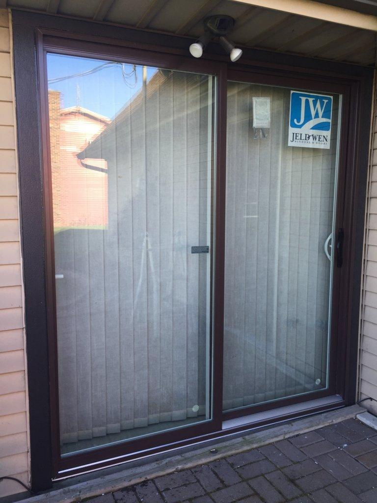 Jeld wen patio door installation hicksville ohio for Patio door replacement