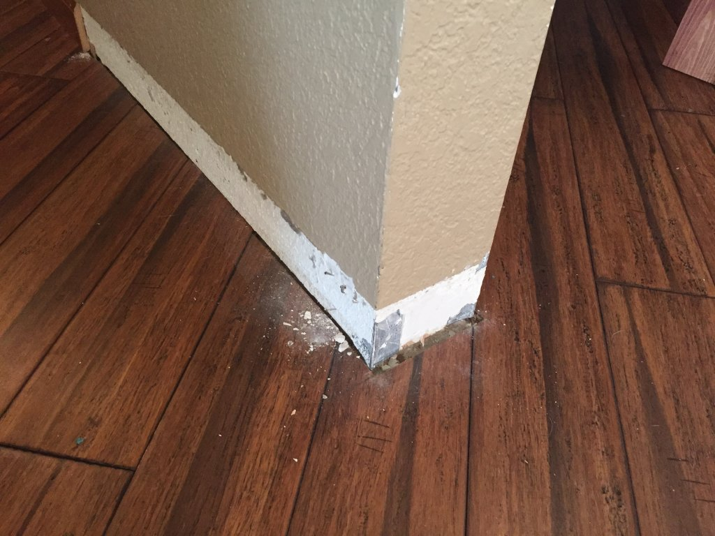 Solid Pine Casing Amp Baseboard Trim Installation