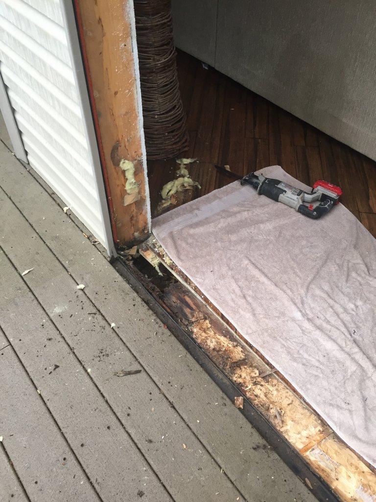 Door Flashing Concrete Figure 8a Exterior Door Pan Flashing Seat Sc 1 St Building
