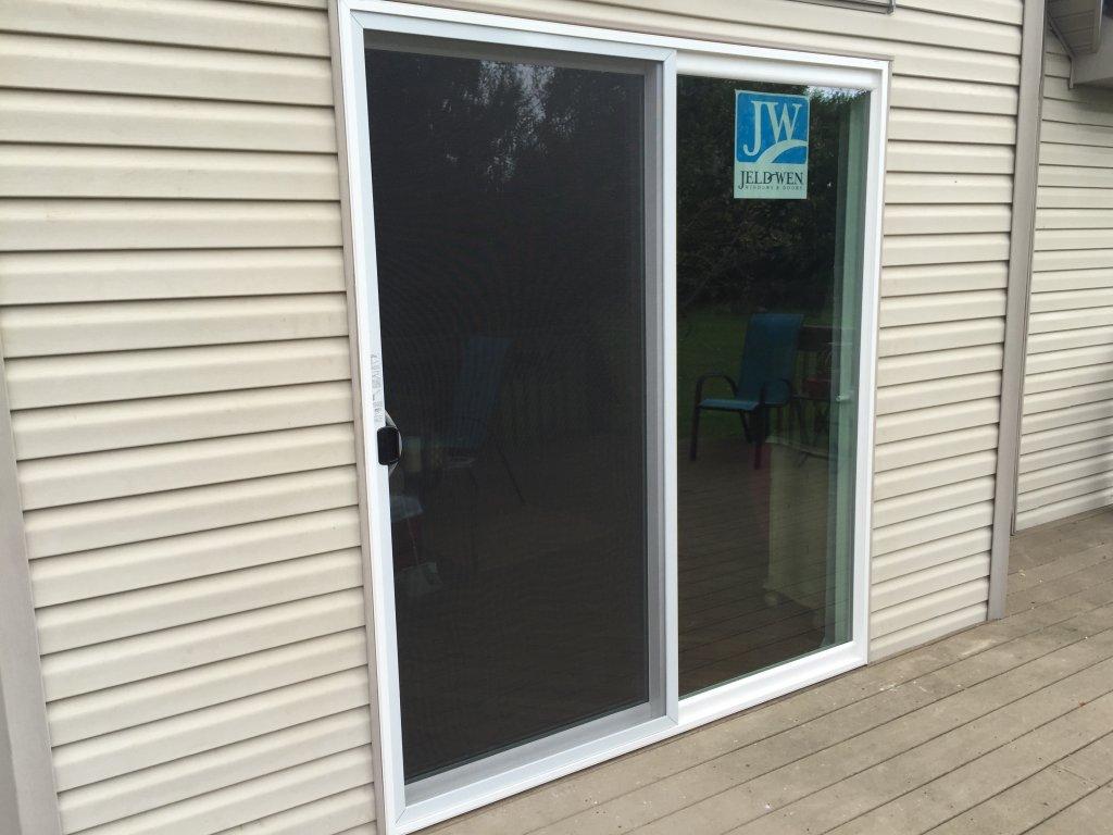 Jeld Wen Sliding Patio Door Installation   Hicksville, Ohio
