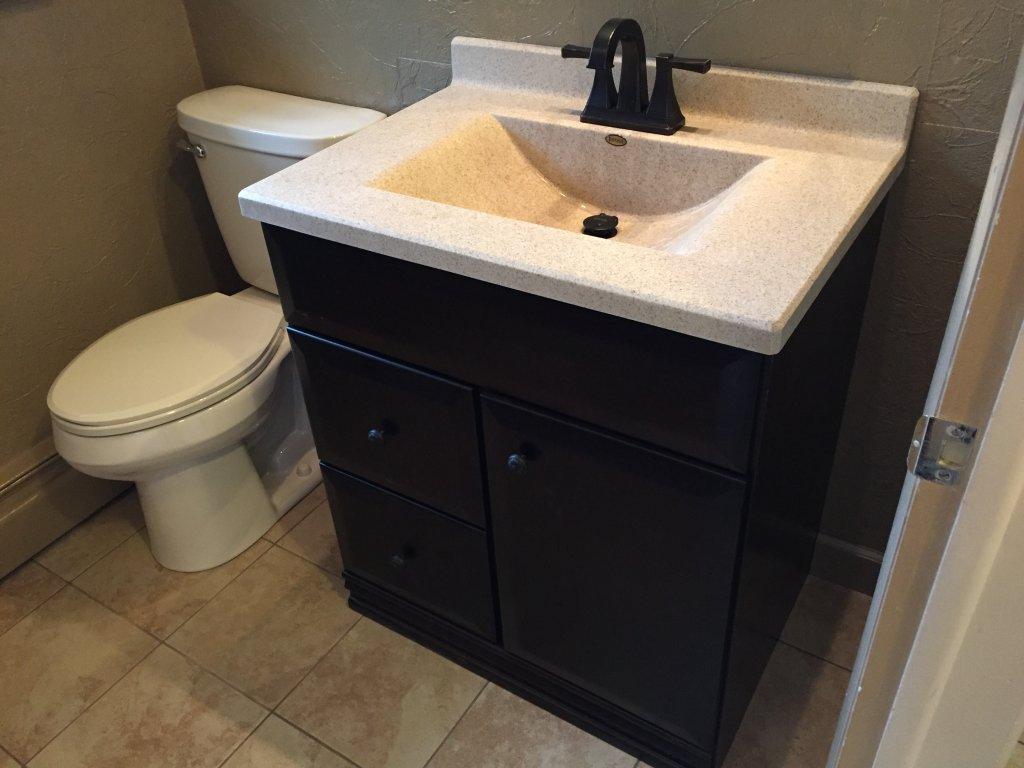 Ceramic Tile Installation Bathroom Upgrade Payne Ohio