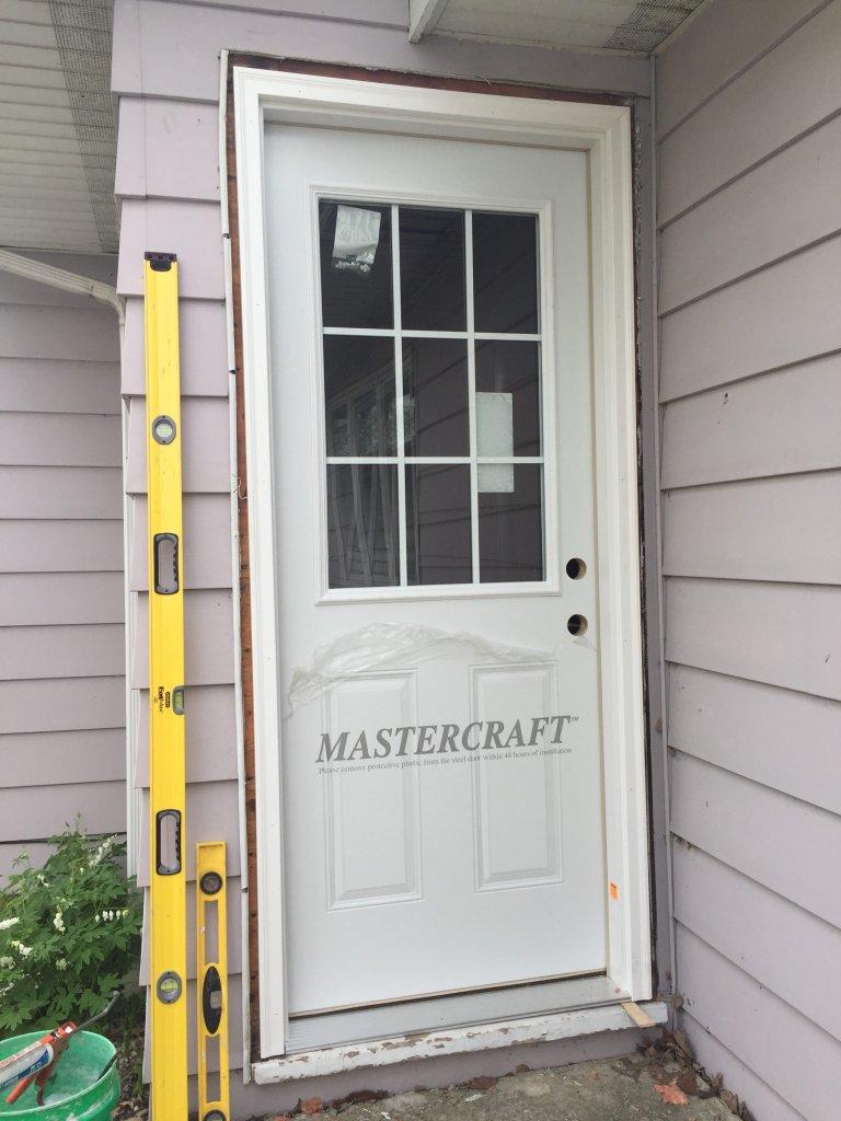 Mastercraft Steel Door Installation Antwerp Ohio