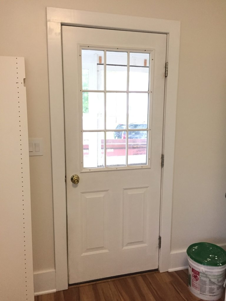 I have a flat rate for entry door installation which includes insulation 100% silicone caulk seal and reuse of existing interior trim. & MasterCraft Steel Entry Door Installation \u2013 Ney Ohio ... Pezcame.Com