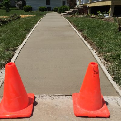 Concrete Sidewalk – Ney, Ohio