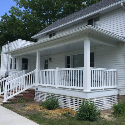 Porch Construction / Refurbish – Ney, Ohio