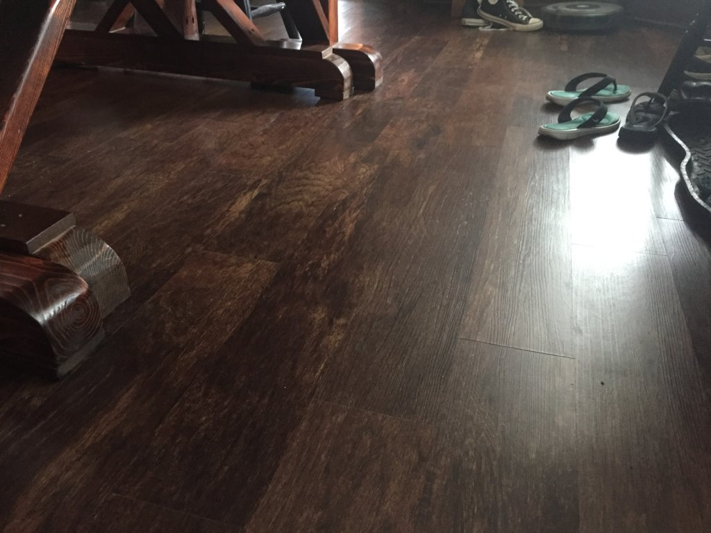 A Hickory Visual Rich With The History And Rustic Charm Of Bygone Era Luxury Vinyl Plank Flooring Is Latest Rave For Home Improvement