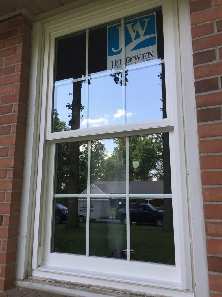 Jeld Wen Premium Vinyl Window Replacement Bryan Ohio