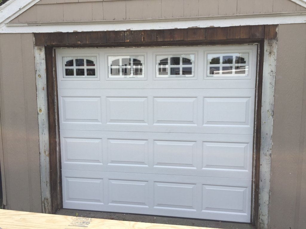 8 x 7 IDEAL Garage Door Installation – Edgerton, Ohio