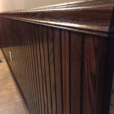 Solid Oak Wainscot Trim (Baseboard, Casing, Six-Panel Doors) – Edgerton, Ohio