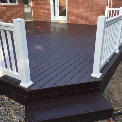 Composite Deck Refurbish – Bryan, Ohio