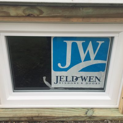 Basement Window Replacement – JeldWen – Hicksville, Ohio