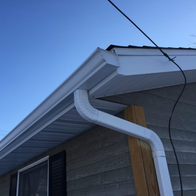 Soffit, Fascia, and Seamless Gutter Upgrade – Hicksville, Ohio