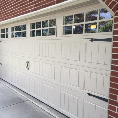16′ Ideal Insulated Garage Door (Carriage Style) – Sherwood, Ohio
