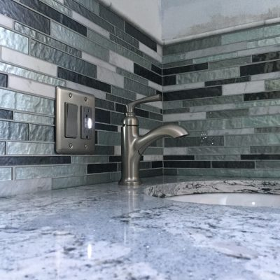 Bathroom Remodel with Mosaic Tile – Ney, Ohio