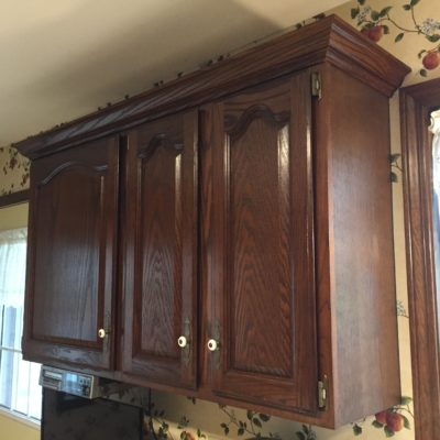 3 1/4″ Oak Crown Molding Installation – Hicksville, Ohio