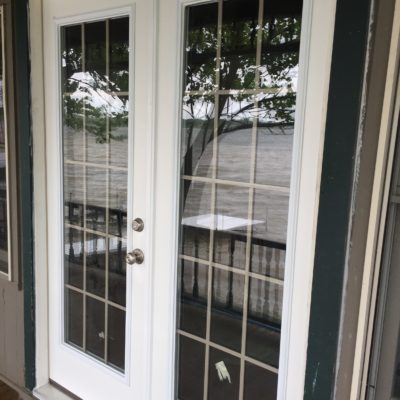 French Patio Door Installation – Hamilton, Indiana