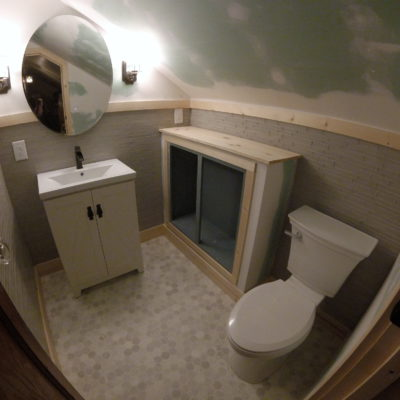 Bathroom Creation – Antwerp, Ohio